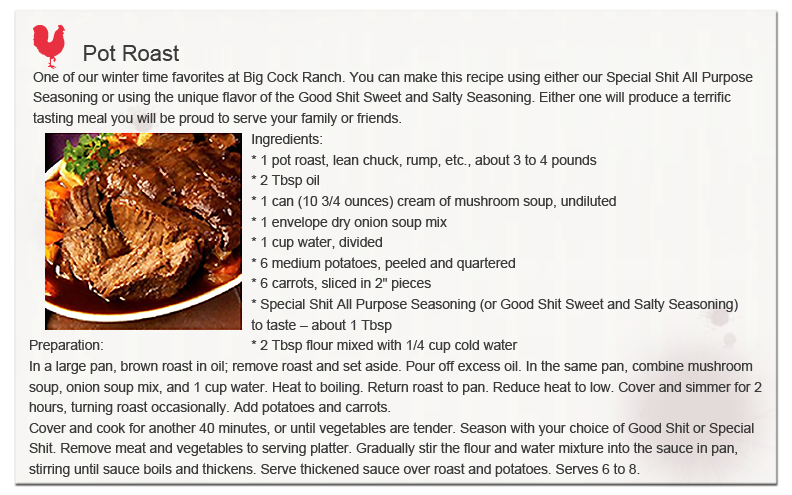 Pot Roast Studded With Almonds And Bacon Recipe — Dishmaps