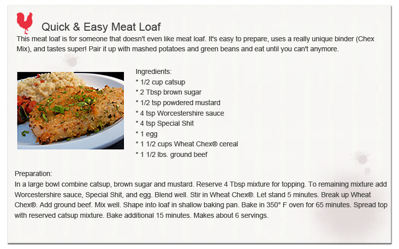Quick and Easy Meat Loaf
